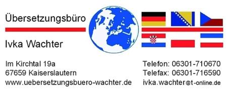 Dolmetscher- und Übersetzungsbüro Ivka Wachter